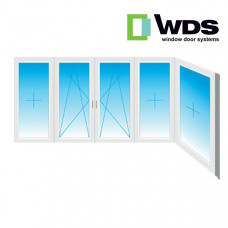 Г-образный балкон WDS