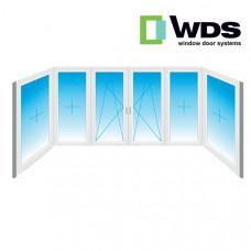 П образный балкон WDS