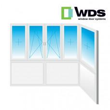 Балкон WDS полностью