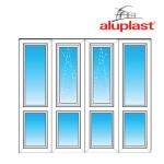 Французский балкон Aluplast - Прямой