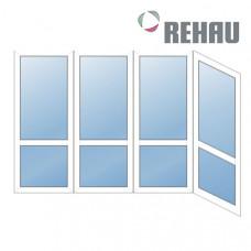 Французский балкон Rehau - Г образный