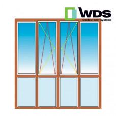 Французский балкон WDS - Прямой