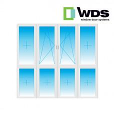 Лоджия WDS, низ - стеклопакет
