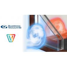 Вакуумный стеклопакет, который предотвращает утечку тепла наружу