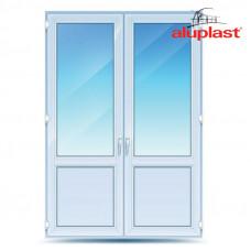 Двухстворчатые двери Aluplast