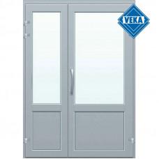Двустворчатые штульповые двери Veka
