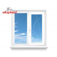 Двухстворчатое окно Aluplast