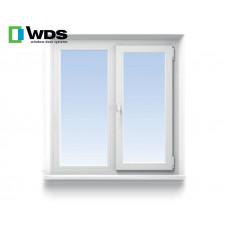 Двухстворчатое окно WDS