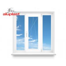 Трехстворчатое окно Aluplast