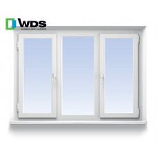 Трехстворчатое окно WDS
