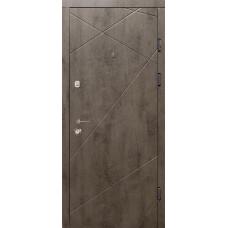 Модель №100, Тип 2 - Квартира, Бетон темный/Бетон светлый
